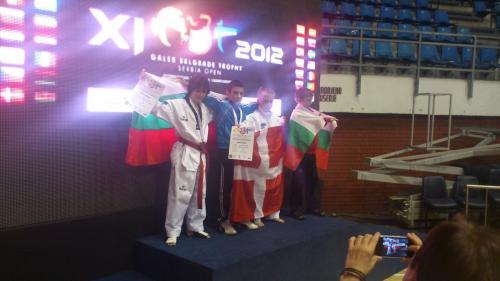 Борислав Найденов със сребърен медал от Galeb Trophy