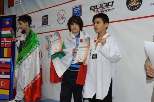 Борислав Найденов с бронзов медал от откритото п-во на Хърватия